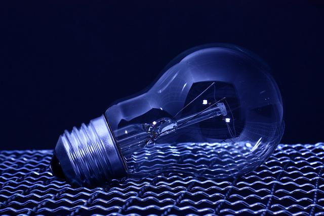 light bulb / Glühbirne by Dennis Skley is licensed under CC BY-NC-ND 2.0