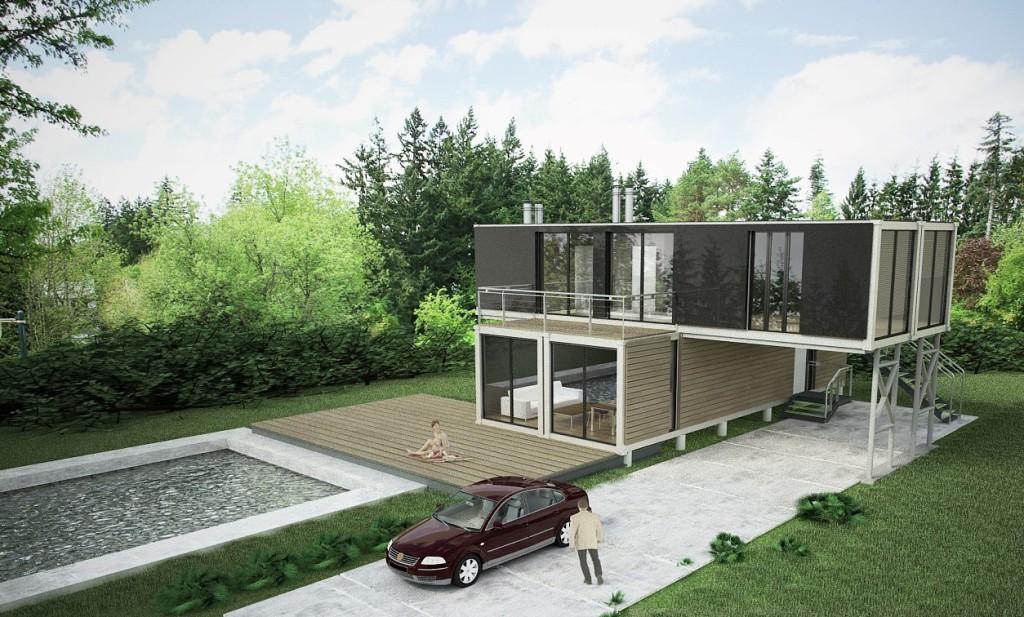 Berühmt Leistbares Wohnen: DIY Container Houses – Teil 2 | JL54