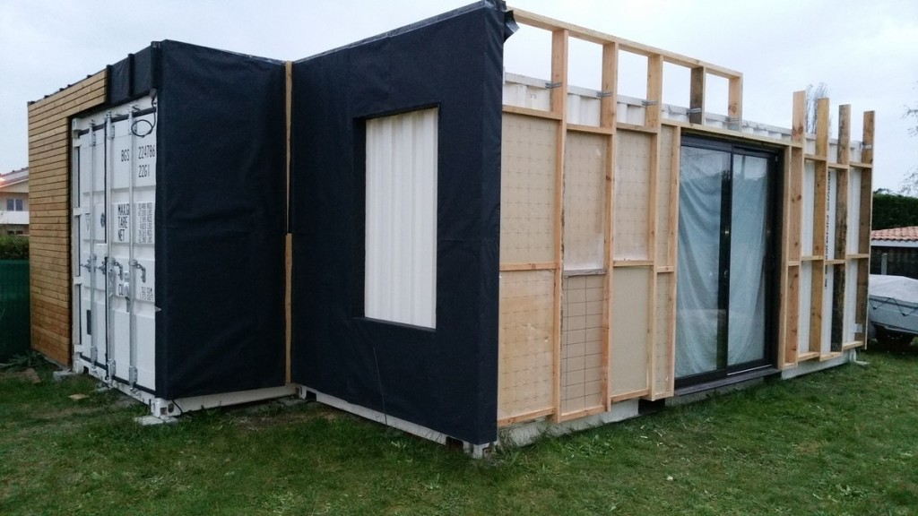 Leistbares wohnen diy container houses teil 2 for Container isolation