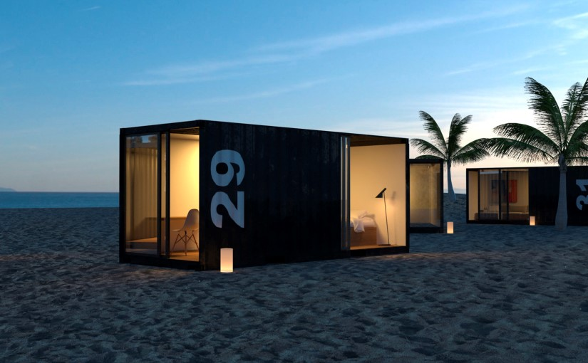 container wohnen amazing flchtlinge wohnen schon im. Black Bedroom Furniture Sets. Home Design Ideas